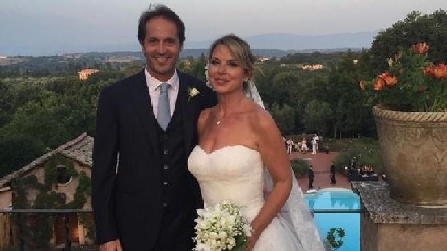 Monica Leoffredi, l'album delle nozze con il suo Gianluca
