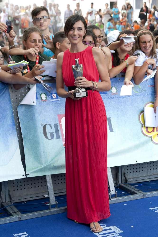 """Giffoni Film Festival, Anna Foglietta: """"Il mio sogno? Fare matrigna al cinema"""""""