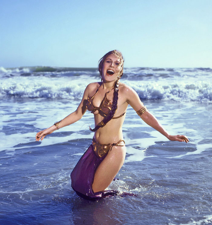 princess-leia-bikini-return-jedi-beach-shoot-1983-carrie-fisher-2