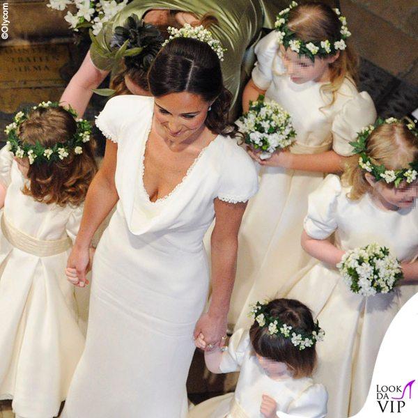 Pippa-Middleton-matrimonio-Kate-e-William-abito-Temperley