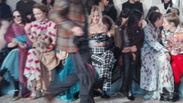 Valentina Ferragni al posto di Chiara: debutto sexy alle sfilate